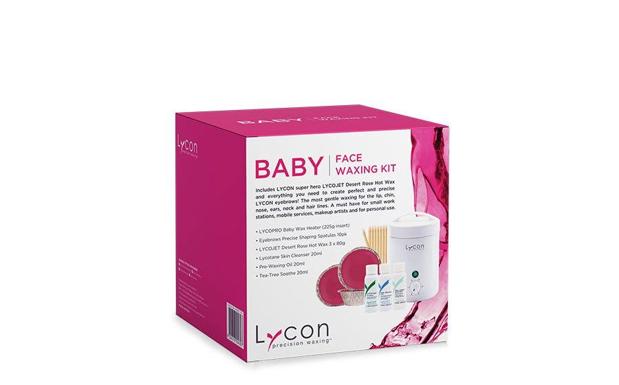 BABY FACE WAXING KIT BOX