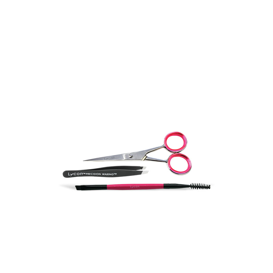 Eyebrow precision tool kit