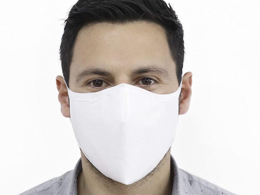 Maske Hvit – uten logo