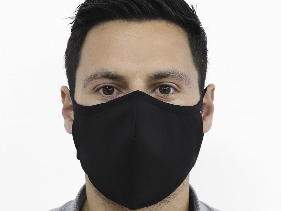 Maske Svart – uten logo