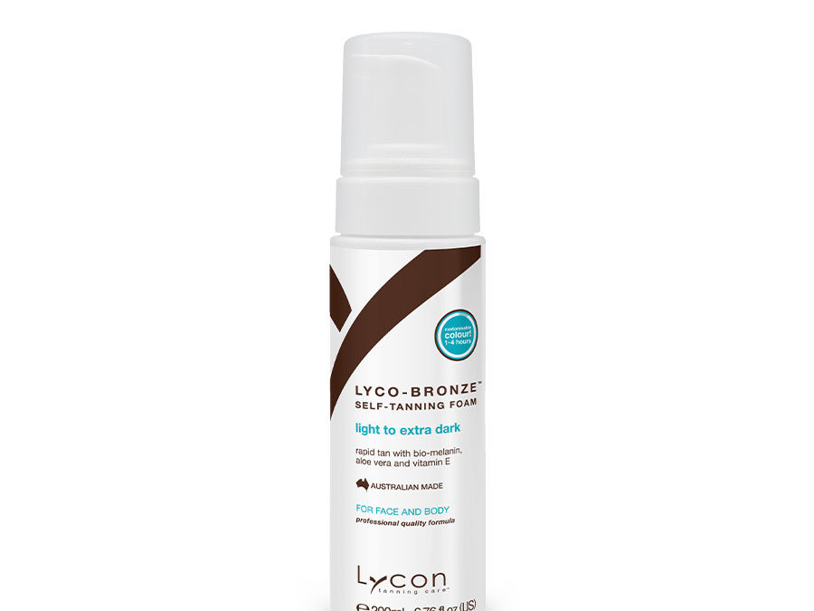 Lyco-Bronze Self-Tanning Foam